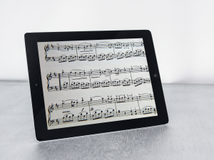 instant access to flute sheet music